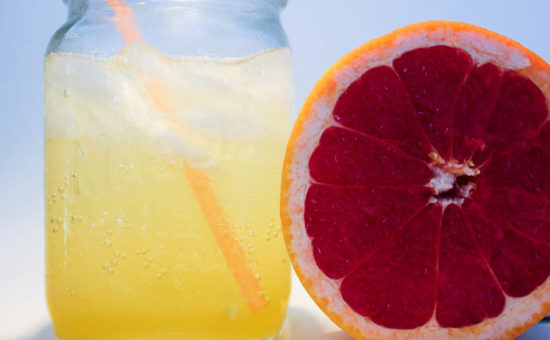 Orange-Bergamot Lemonade Soda