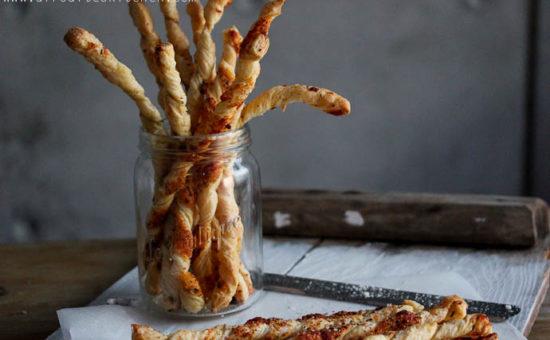 Halloumi & Parmigiano Reggiano Bread Twists