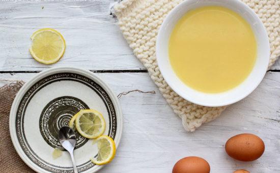 Egg Lemon Soup (Avgolemono)