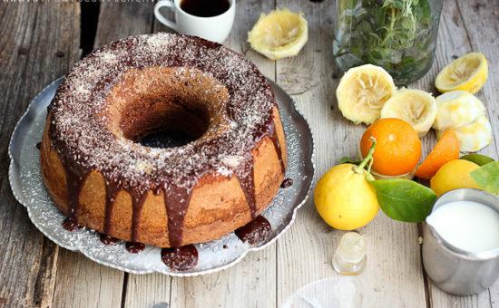 Chocolate Bergamot Bundt Cake