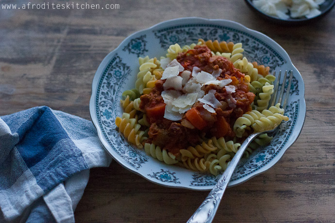 chicken bolognese recipe