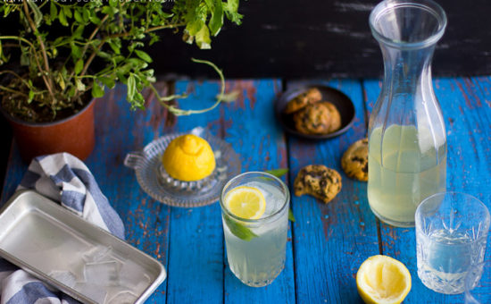 Lemon Verbena (Αλοιζα) Iced Tea