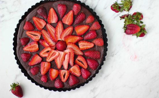 Chocolate Strawberry Tart
