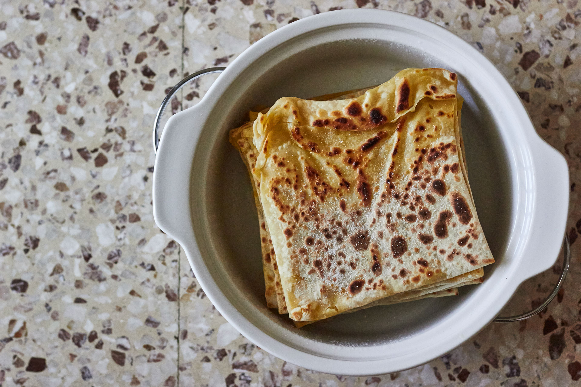 Cypriot Pancake Things (Katimeri)