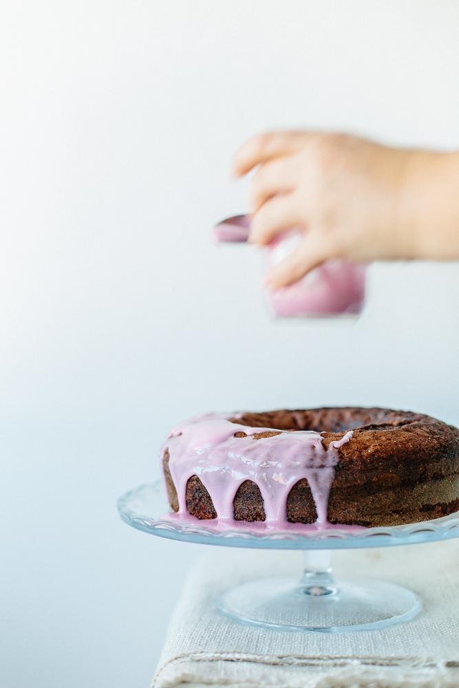 chocolate & pomegranate cake with Cyprus coffee-2878