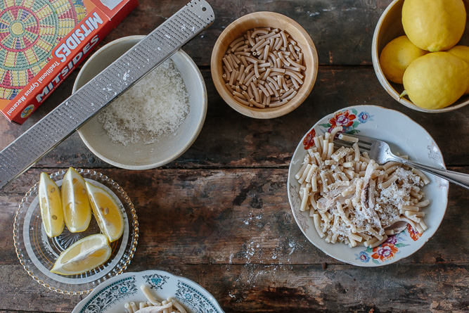 Pasta With Boiled Chicken-4658