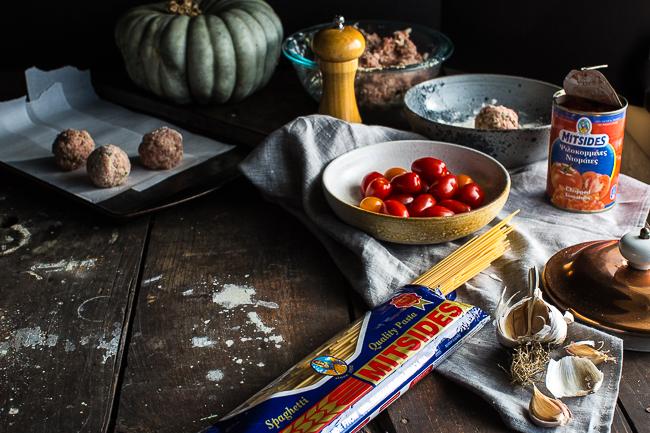 Afrodite's Kitchen Spaghetti & Meatballs-9089