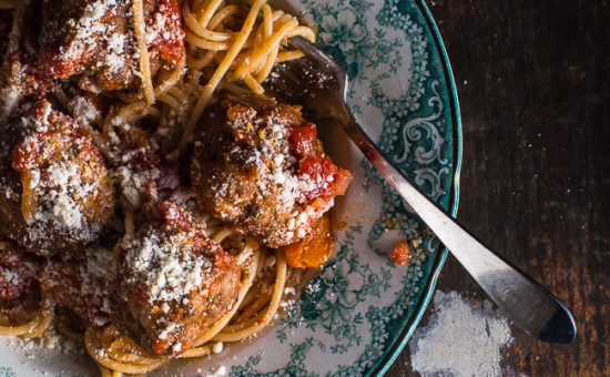 Spaghetti & Meatballs With