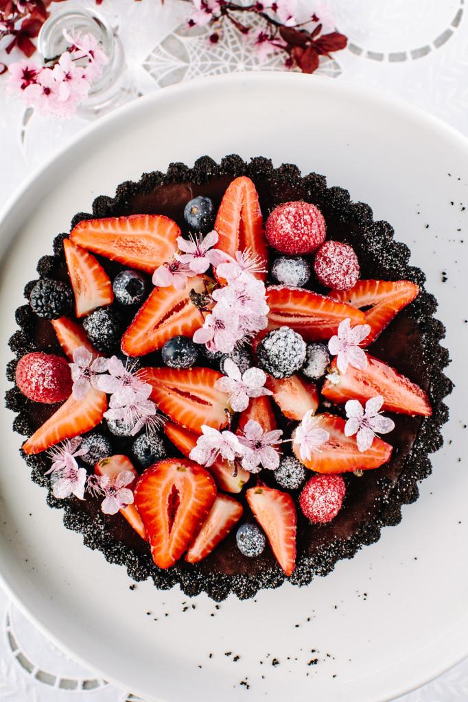 berry tart recipe oreo crust cake strawberry tart afroditeskitchen.demoing.info