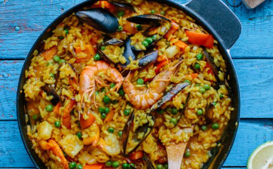 Seafood Paella - Part of The