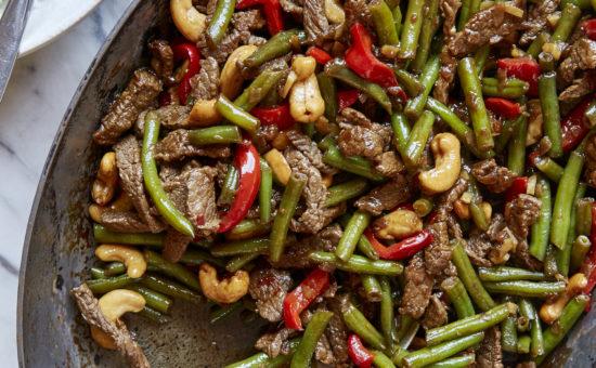 Chili Beef Stir Fry