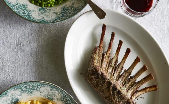 Rack of Lamb with Sweet Potato Mash