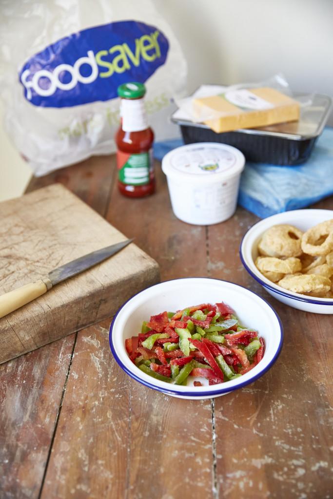 Foodsaver Chicken Fahitas Foodsaver - Quiche Lorraine4507