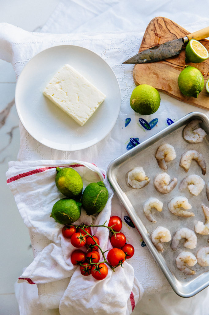 Lemon Garlic Prawns-8984