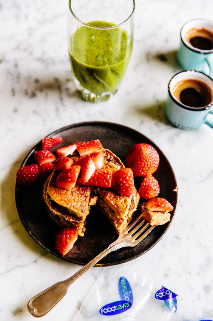 Vegan Pancakes & Smoothie-9955