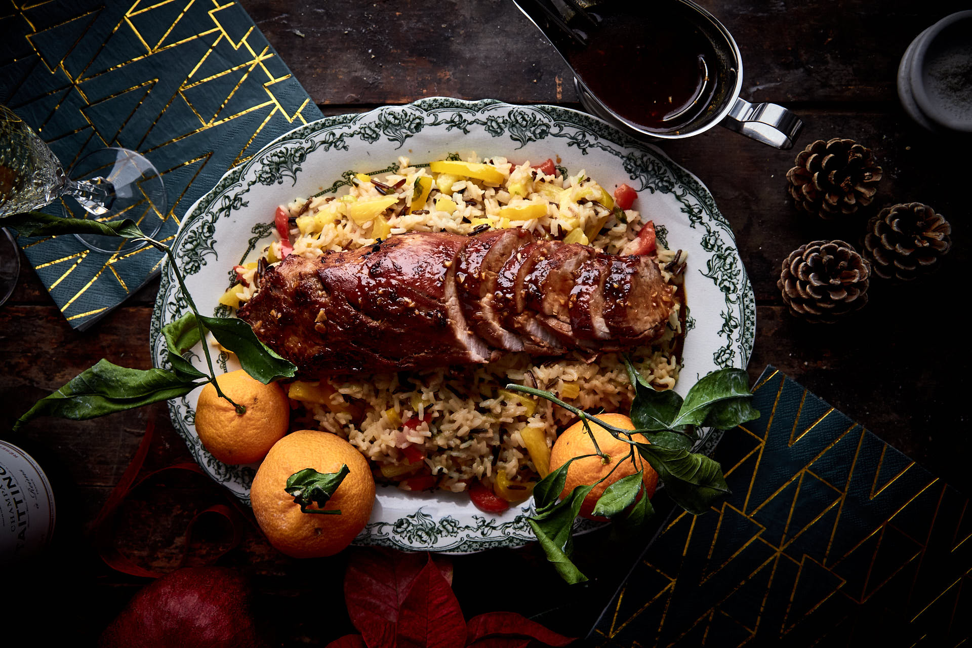 Pork Tenderloin With Pineapple Rice & Foodsaver Stores