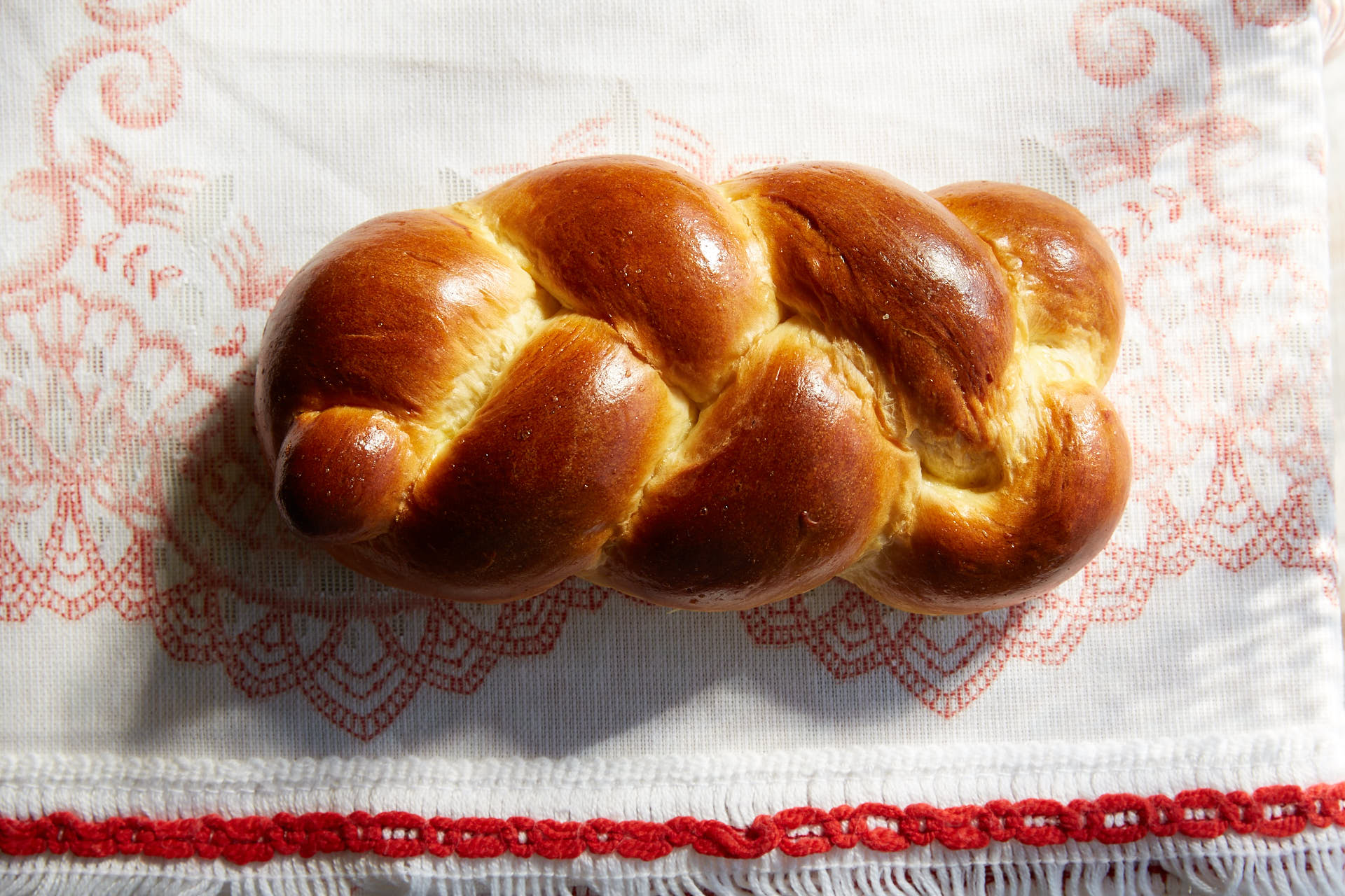 Orange Easter Bread (Tsoureki)